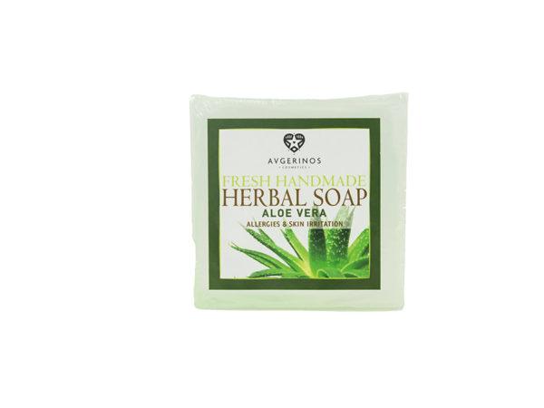 ALOE SOAP HANDS FACE BODY HANDMADE