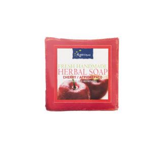 CHERRY SOAP HANDS FACE BODY HANDMADE