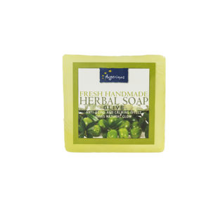OLIVE SOAP HANDS FACE BODY HANDMADE
