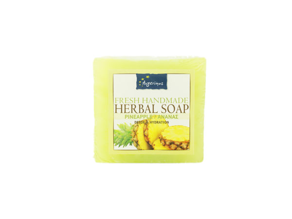PINEAPPLE SOAP HANDS BODY FACE HANDMADE